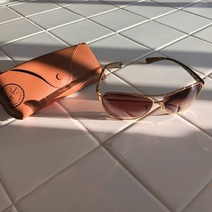 Rayban glasses with case